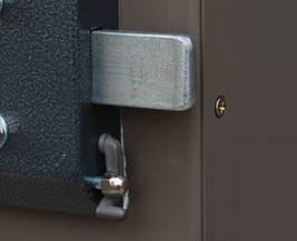 Self Latching Mechanism for Two Point Lock