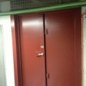 High Security Double Door Unit with Four Point lock