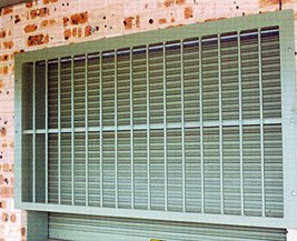 Security bars for Roller Shutter