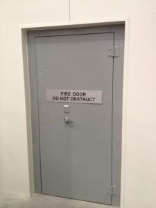 Custom Fire Exit Door