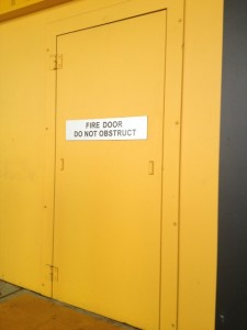Custom High Security Exit Door