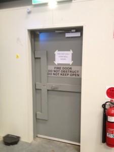 Custom Security Fire Rated Door