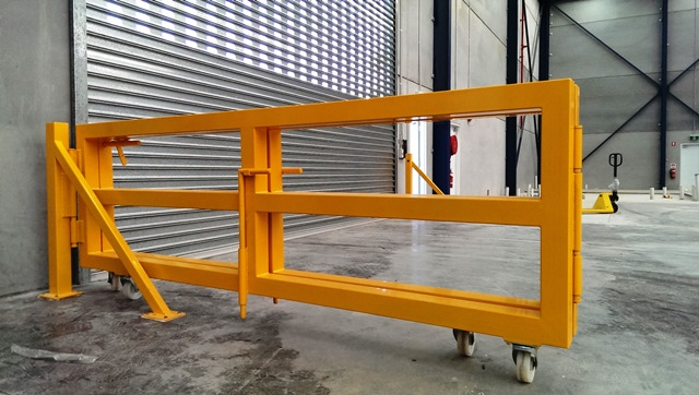 roller shutter security barrier