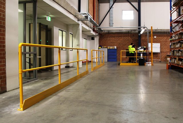 OH&S occupational health and safety warehouse fencing